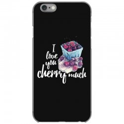 i love you cherry much for dark iPhone 6/6s Case | Artistshot