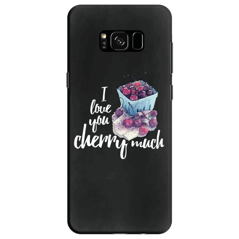 I Love You Cherry Much For Dark Samsung Galaxy S8 Case | Artistshot