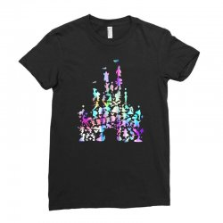 castle characters Ladies Fitted T-Shirt | Artistshot