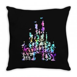 castle characters Throw Pillow | Artistshot