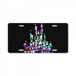 castle characters License Plate | Artistshot