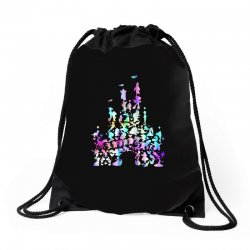 castle characters Drawstring Bags | Artistshot