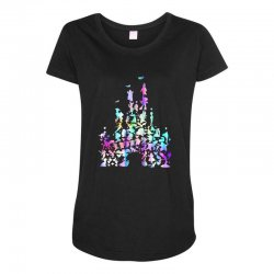 castle characters Maternity Scoop Neck T-shirt | Artistshot