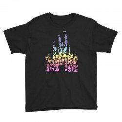 castle characters pastel Youth Tee | Artistshot