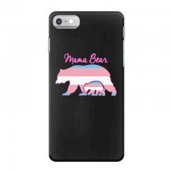 mama bear leopard trans iPhone 7 Case | Artistshot
