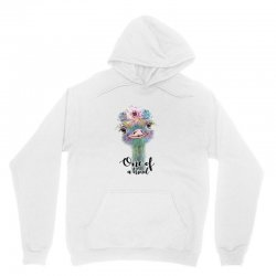 one of a kind ostrich for light Unisex Hoodie | Artistshot