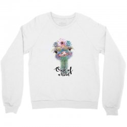one of a kind ostrich for light Crewneck Sweatshirt | Artistshot