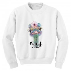 one of a kind ostrich for light Youth Sweatshirt | Artistshot