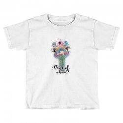 one of a kind ostrich for light Toddler T-shirt | Artistshot