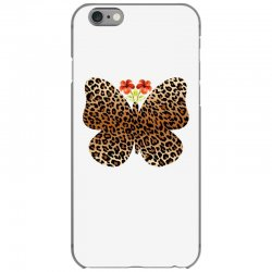 leopard butterfly iPhone 6/6s Case | Artistshot