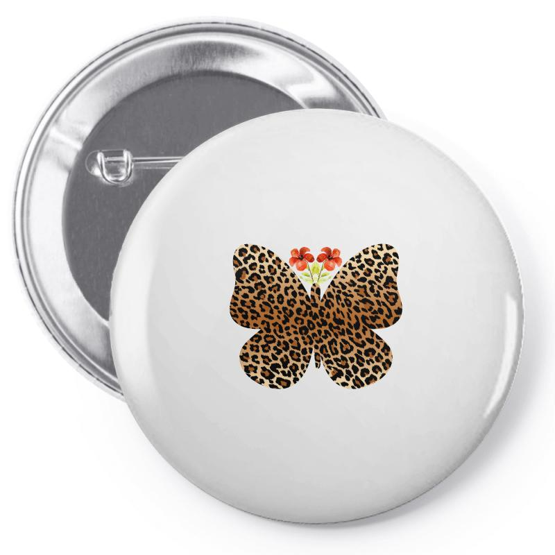 Leopard Butterfly Pin-back Button | Artistshot