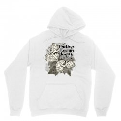 i believe there are angels among us Unisex Hoodie | Artistshot