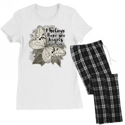 i believe there are angels among us Women's Pajamas Set | Artistshot