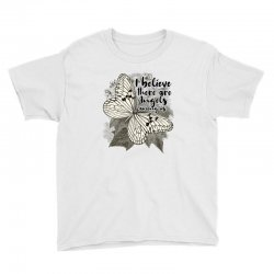 i believe there are angels among us Youth Tee | Artistshot