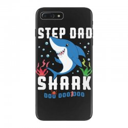 step dad shark family matching iPhone 7 Plus Case | Artistshot