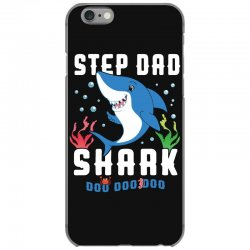 step dad shark family matching iPhone 6/6s Case | Artistshot