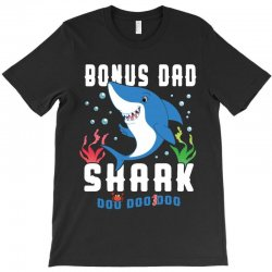 bonus dad shark family matching T-Shirt | Artistshot