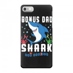 bonus dad shark family matching iPhone 7 Case | Artistshot