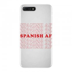 spanish  af iPhone 7 Plus Case | Artistshot