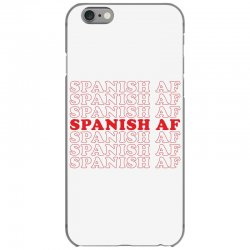 spanish  af iPhone 6/6s Case | Artistshot