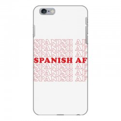 spanish  af iPhone 6 Plus/6s Plus Case | Artistshot