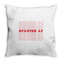 spanish  af Throw Pillow | Artistshot