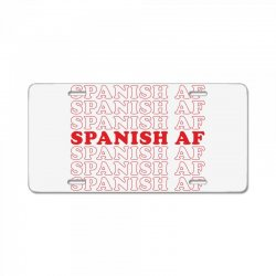spanish  af License Plate | Artistshot