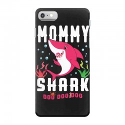 mommy shark family matching iPhone 7 Case | Artistshot