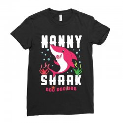 nanny shark family matching Ladies Fitted T-Shirt | Artistshot