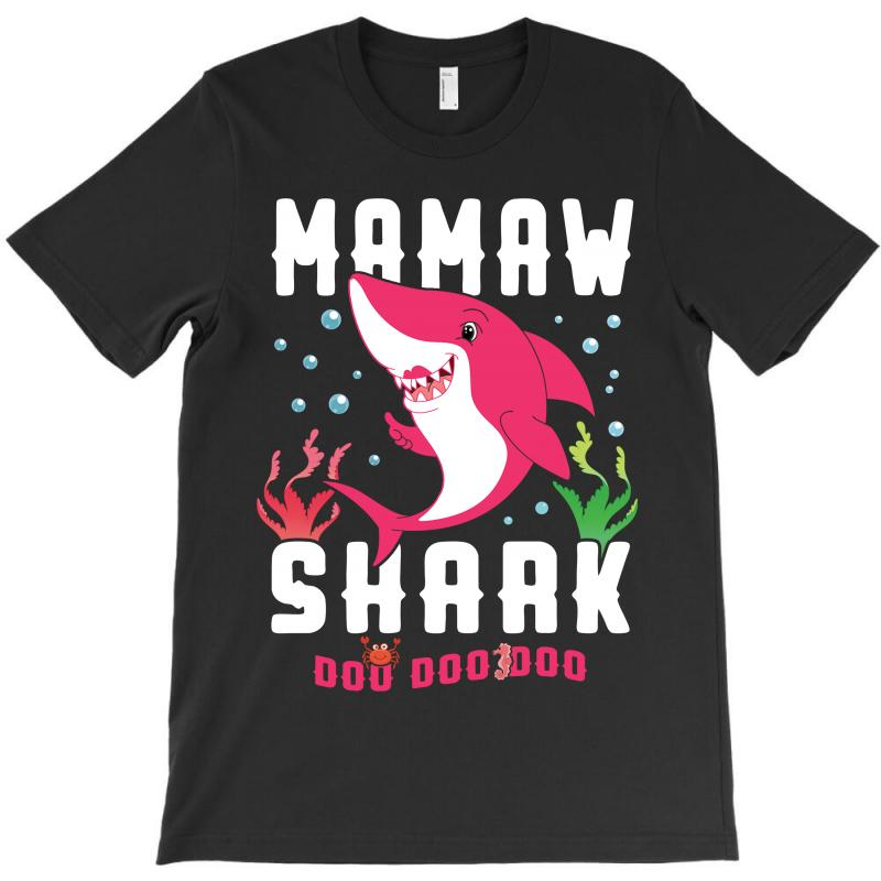 Mamaw Shark Family Matching T-shirt | Artistshot
