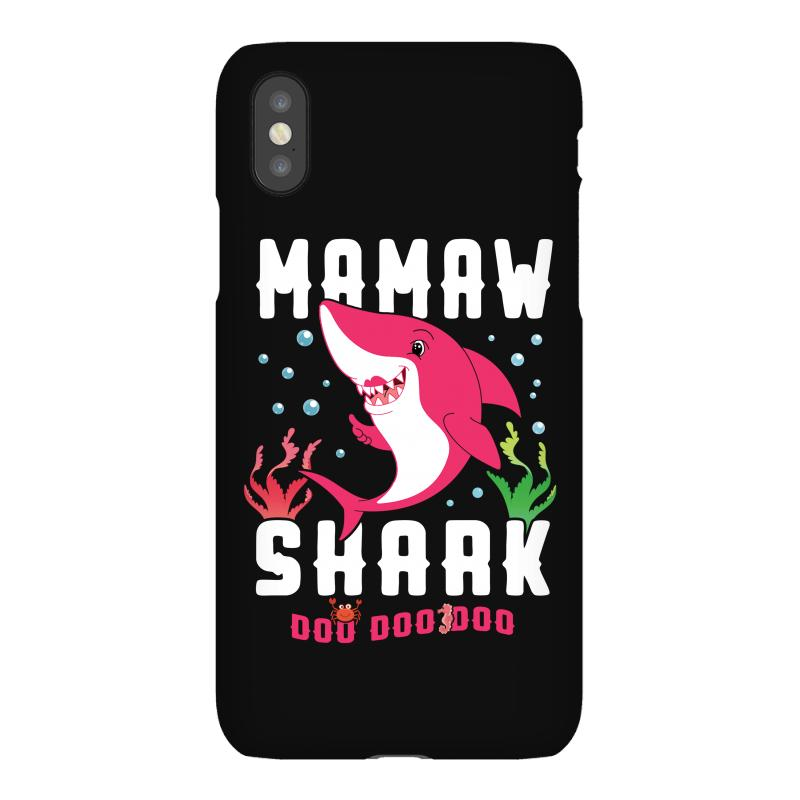 Mamaw Shark Family Matching Iphonex Case | Artistshot