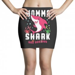 momma shark family matching Mini Skirts | Artistshot