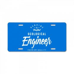 Geological Engineer License Plate | Artistshot