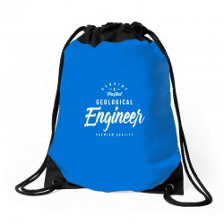 Geological Engineer Drawstring Bags | Artistshot