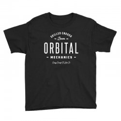 Orbital Mechanics Youth Tee | Artistshot