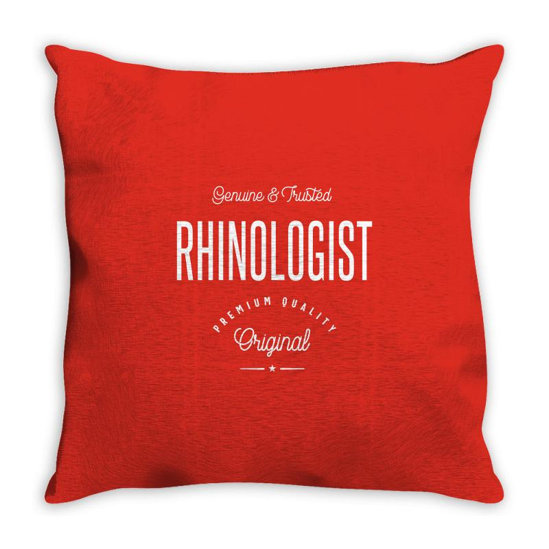 Rhinologist Throw Pillow | Artistshot