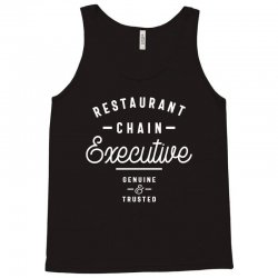 Restaurant Chain Executive Tank Top | Artistshot