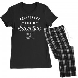 Restaurant Chain Executive Women's Pajamas Set | Artistshot