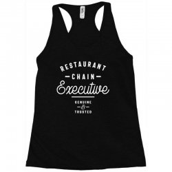 Restaurant Chain Executive Racerback Tank | Artistshot