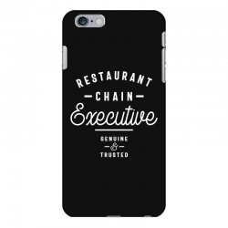 Restaurant Chain Executive iPhone 6 Plus/6s Plus Case | Artistshot