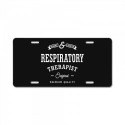 Respiratory Therapist License Plate | Artistshot