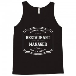 Restaurant Manager Tank Top | Artistshot