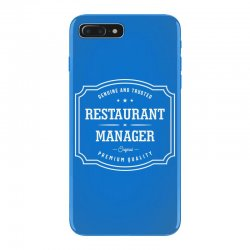 Restaurant Manager iPhone 7 Plus Case | Artistshot