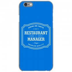 Restaurant Manager iPhone 6/6s Case | Artistshot
