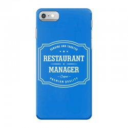 Restaurant Manager iPhone 7 Case | Artistshot
