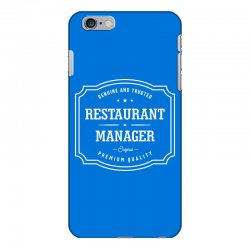 Restaurant Manager iPhone 6 Plus/6s Plus Case | Artistshot