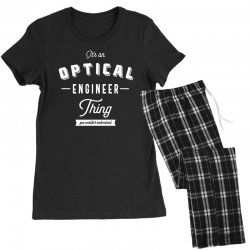 Optical Engineer Thing Women's Pajamas Set | Artistshot