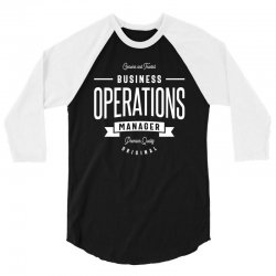 Business Operations Manager 3/4 Sleeve Shirt | Artistshot