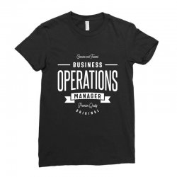 Business Operations Manager Ladies Fitted T-Shirt | Artistshot