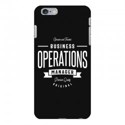 Business Operations Manager iPhone 6 Plus/6s Plus Case | Artistshot